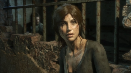 In Jail - croft, lara, laura, Tomb, raider