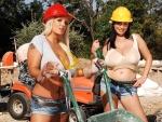 girls on work