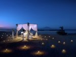 Romantic Diner by the Beach