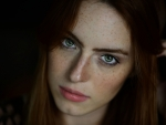 Red Head with freckles