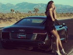 model with audi sport