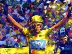 Tour De France paint