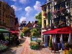 Picturesque Street f