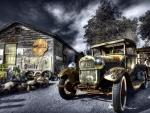 fantastic old ford hdr