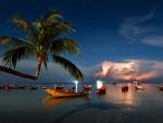 Storm night - Thailand