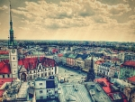 cityscape of olomouc in the czech republic hdr