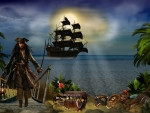 *Jack Sparrow treasure island*