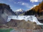 Wapta Waterfall, Yoho Nat'l. Park, Alberta
