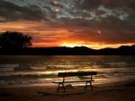 'Beautiful sunset'.....