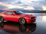 Red Dodge Challenger