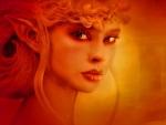 Superb blonde elf