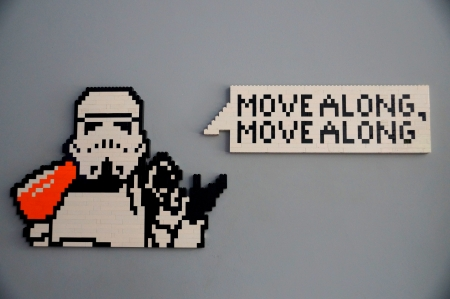 Move Along Trooper - along, move, wars, trooper, lego, star