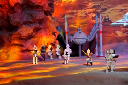 Lego Trooper Cave - wars, trooper, cave, lego, star