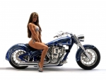Hot-Chick-Bike