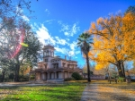 lovely vintage plantation home hdr