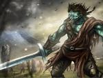 Highland Zombie