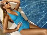 Swimsuit Model ~ Candice Swanepoel
