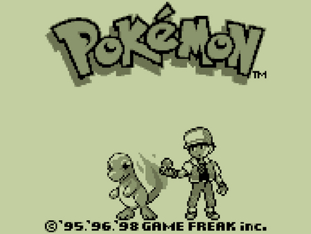 Untitled Wallpaper - title screen, victor, charmander, ash, game boy