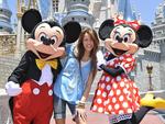 Miley Cyrus Visits Disney World