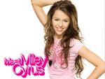 Meet Miley Cyrus - Music CD Cover Art