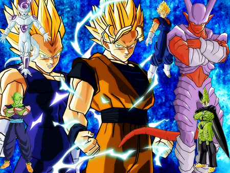 DBZ wallpaper - villians, dbz, heroes