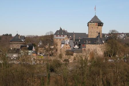 Schloss Burg an der Wupper (Castle Castle) - medieval, castle, castle castle, schloss burg, germany, wupper