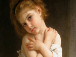 La Frileuse by Bouguereau