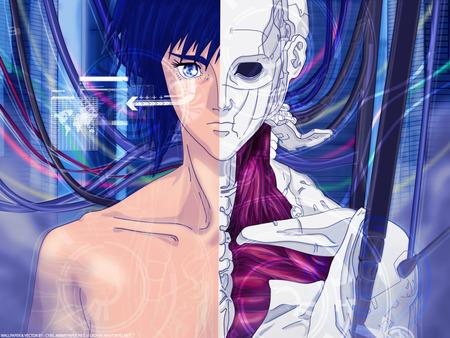 Major Motoko Kusanagi Ghost In The Shell Anime Background Wallpapers On Desktop Nexus Image 200815