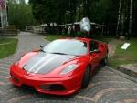 Ferrari and a Jet