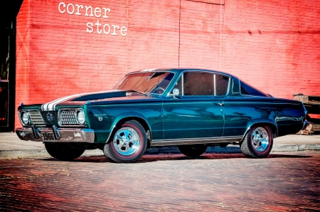 1966-Plymouth-Barracuda - Plymouth & Cars Background