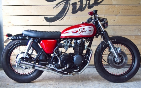 Cafe Racer - Cafe, bike, racer, ride
