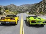 Corvette Z06 & Lamborghini Aventador