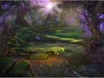 Bosque de fantasia