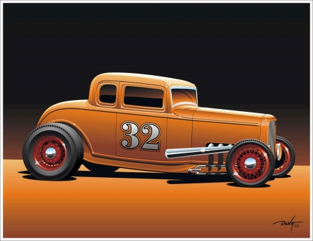 Copper Street Rod - custom, hot rod, street rod, car
