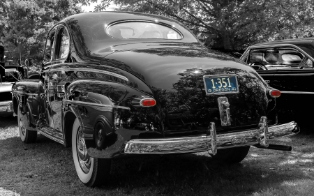 1942 Ford Coupe - cars, 2 colour, 1942, ford