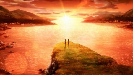 Anime Horizon Sunset