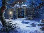 Silence in a winter night