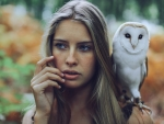 Owl and the lady