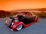 Lowriding Hot Rod