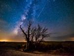 Comet Dust over Enchanted Rock \