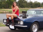 Hot Rod Cowgirl