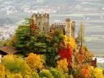 brunnenburg castle in south tyrol