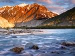 beautiful flowing river