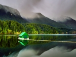 boat house on lake capilano in north vancouver