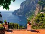 capri terrace view