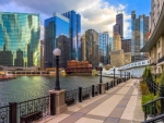 the chicago river hdr