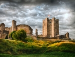 Conisbrough Castle, Yorkshire, England