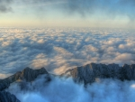 clouds above andes