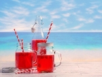 ✿⊱•╮Drinks at the Beach╭•⊰✿