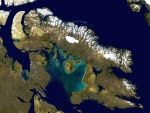 Baffin Island From Space